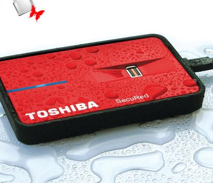 "TOSHIBA externí HDD 2,5"", 200GB,Fingerprint sensor, USB 2.0"