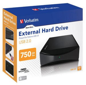 "VERBATIM 750GB HDD 3.5"" 7200 RPM USB 2.0"